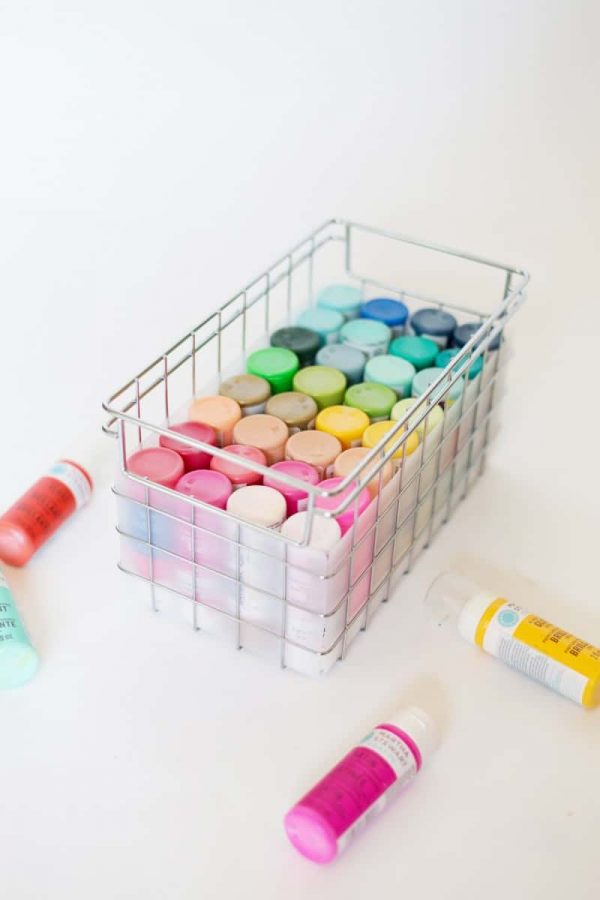 Are you trying to find perfect craft storage ideas to steal? These Craft Room Organization ideas are going to give you a perfectly organized space with ALL of your supplies to hand! These Paint Storage Ideas are perfect for any art studio or craft room space. They're adorable, cute & quirky! Check out 15 incredible craft storage ideas #craftroom #craftstorage #storage #homeoffice #craftstudio #artstudio #paintstorage #craftpaints #marthastewart #hhmuk